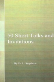 50 Short Talks and Invitations